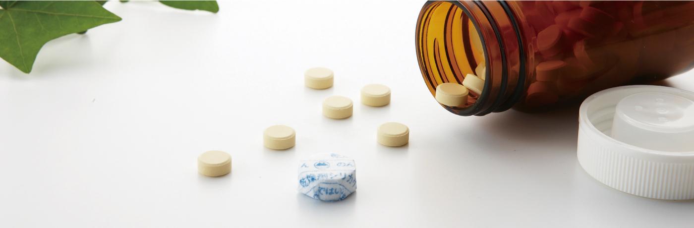錠剤型シリカゲル乾燥剤 ドライヤーンタブレット